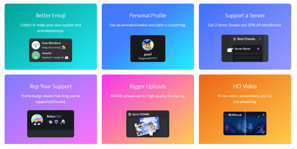 Discord Nitro Features - How does Discord make money?