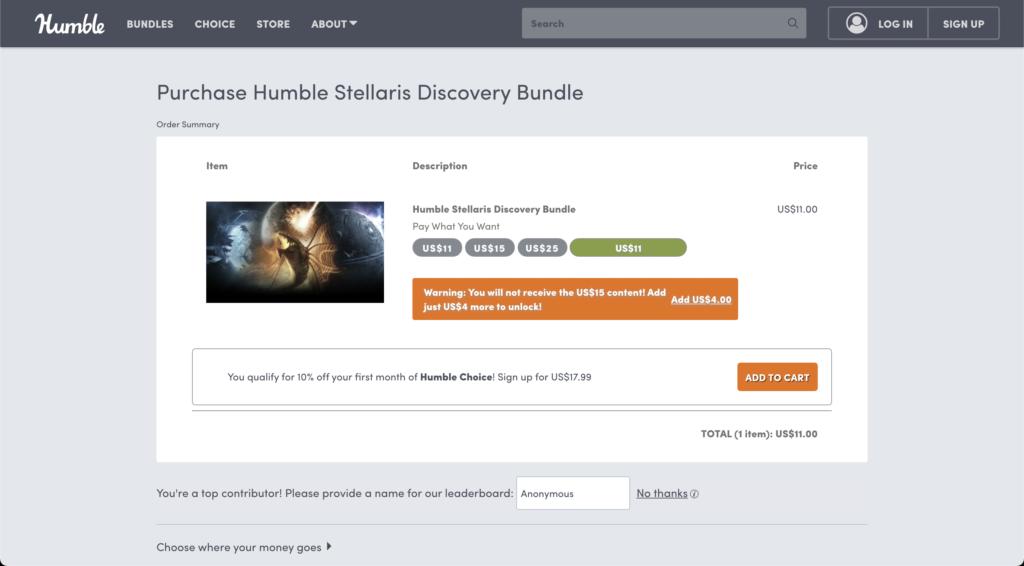 How does Humble Bundle make money